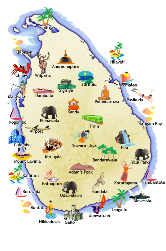 East Coast 10 Nights 11 Days – East Coast Tourist Attractions Map